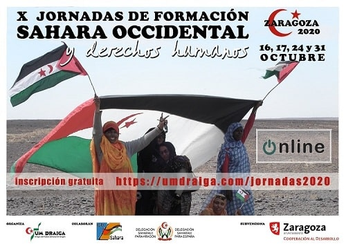 X Jornadas de Formación Sahara Occidental y derechos humanos